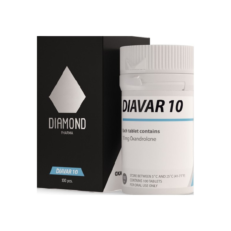 Diavar 10 - Oxandrolone 100 tabs x 10 mg - Buy Cheap Steroids