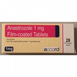 Anastrozole Accord 28 tab x 1 mg - UK