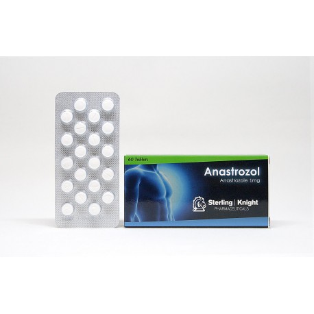 Ananstrozol 60 tabs - Sterling Knight